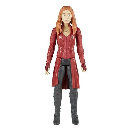 Marvel Infinity War Titan Hero Series Scarlet Witch with Titan Hero Power FX (Scarlet Witch Marvel)