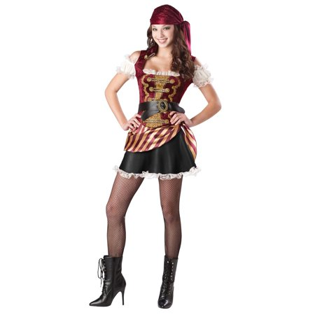 Teen Pirate Babe Costume - Pirate Babes
