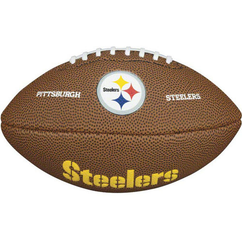 "NFL - Pittsburgh Steelers 9"" Mini Soft Touch Football"