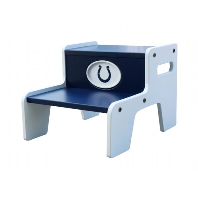 Adventure Furniture N0534-IND Indianapolis Colts Two Step Stool by Adventure Furniture