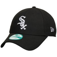 Chicago White Sox New Era Men's League 9FORTY Adjustable Hat - Black - OSFA
