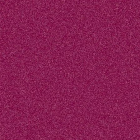 Home Queen Solid Color Cranberry 5 Square Area Rug