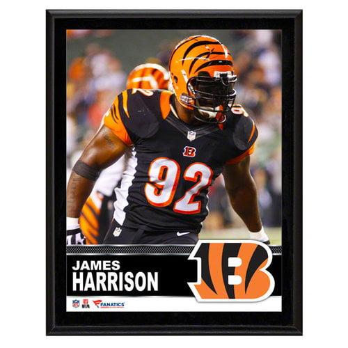 NFL - James Harrison Cincinnati Bengals Sublimated 10x13 Plaque