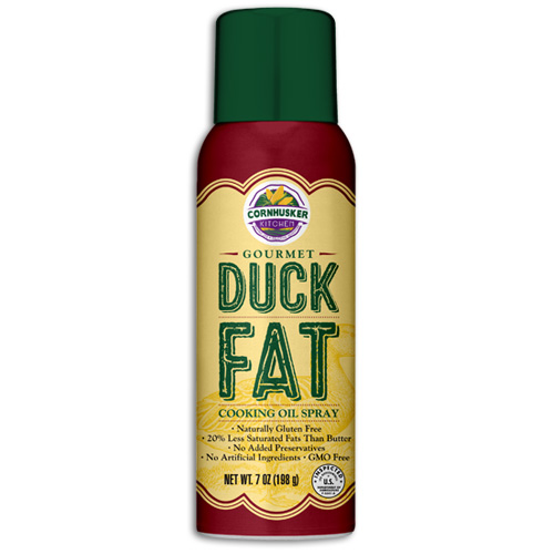 Gourmet Duck Fat Cooking Oil Spray Gluten Free by Lumber Jack BBQ Pellets