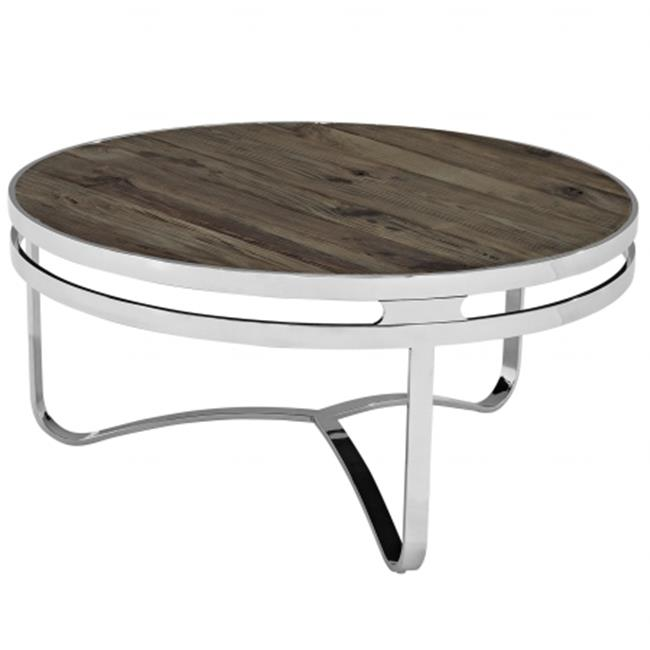 East End Imports EEI-1213-BRN Provision Wood Top Coffee Table, Brown