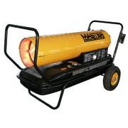 Master 215,000 BTU Portable Kerosene Forced Air Utility Heater with Thermostat