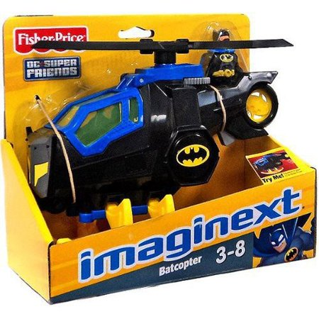Fisher-Price Imaginext Super Friends Batcopter (Fisher Price Imaginext Dc Super Friends Batcopter)