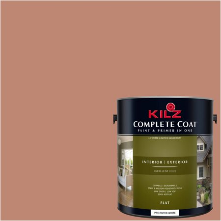KILZ COMPLETE COAT Interior/Exterior Paint & Primer in One #LB270-01 Baked Cinnamon - Bake On Paint