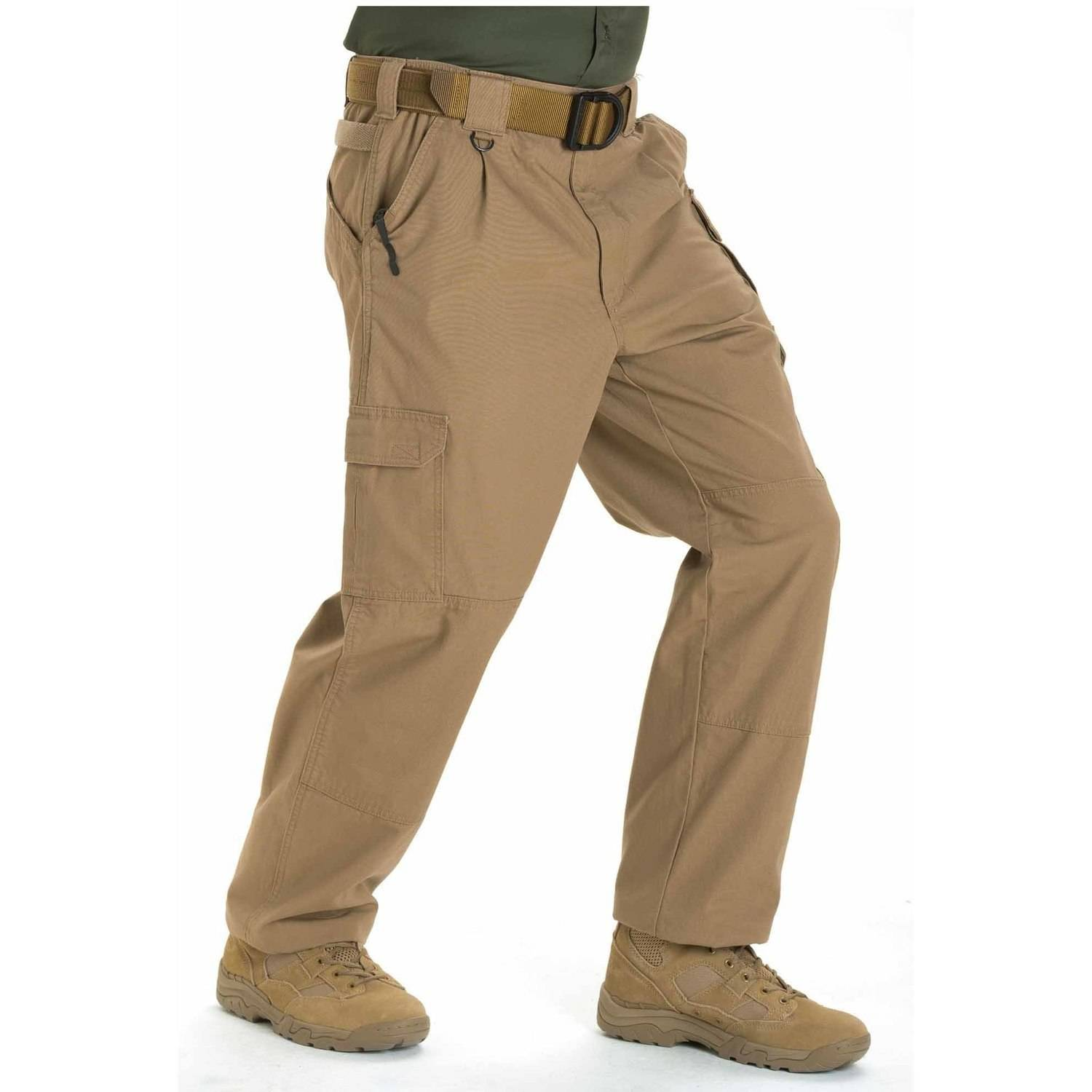 5.11 Tactical Men's Cotton Tactical Pant, Coyote Brown