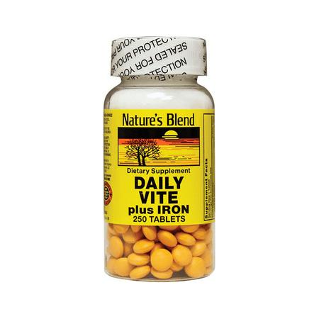 250 Iron (NAT B DAILY VITE W/IRON TB)