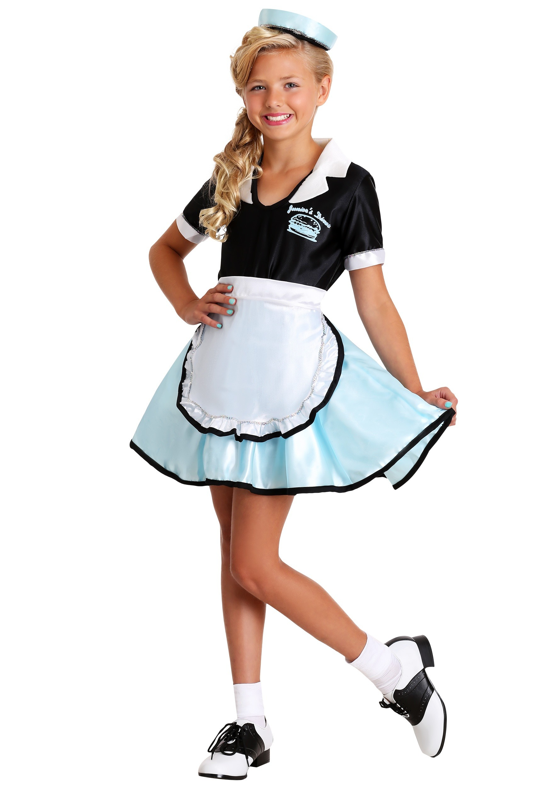 cf6ed918bc86 Car Hop Girl Child Halloween Costume - Walmart.com