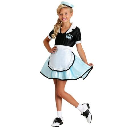 Cars Costume (Kids Car Hop Girl Costume)