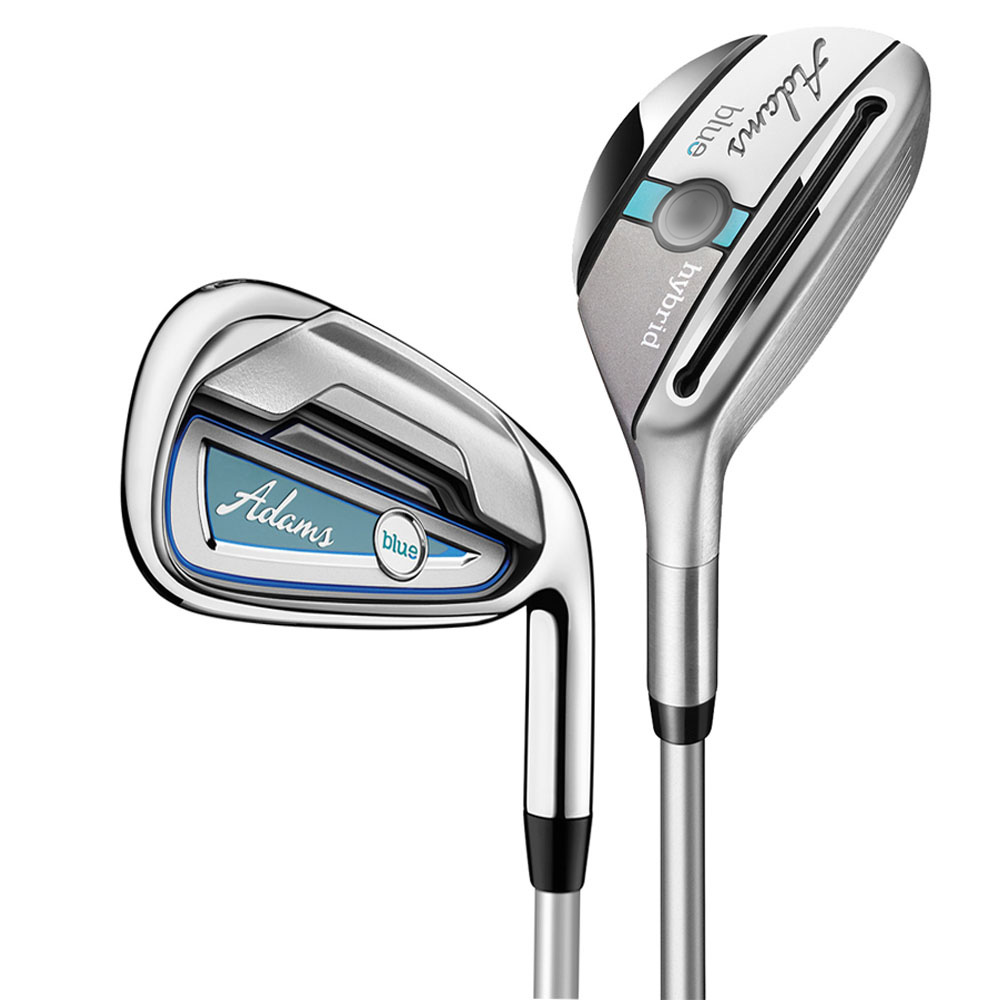 Adams Blue Hybrid Iron Set Ladies