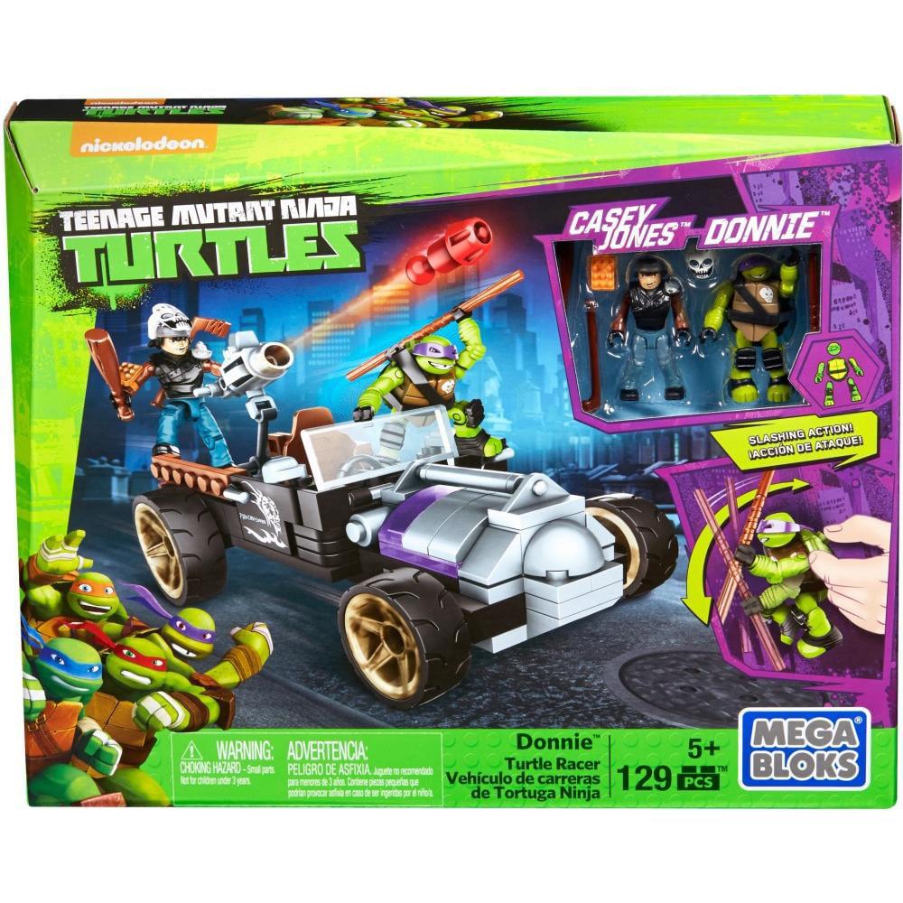Mega Bloks Teenage Mutant Ninja Turtles Donnie Turtle Racer by Mega Bloks