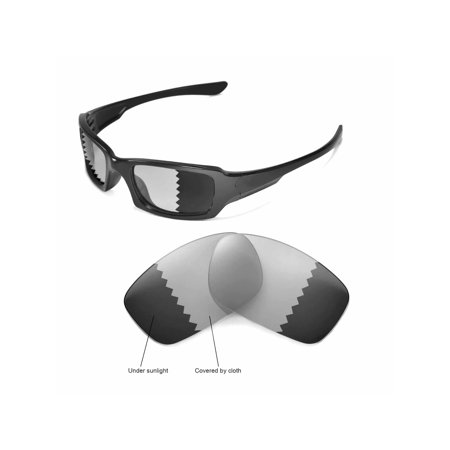 4f0bd9ed3030e Walleva - Walleva Transition Photochromic Polarized Replacement Lenses for Oakley  Fives Squared Sunglasses - Walmart.com