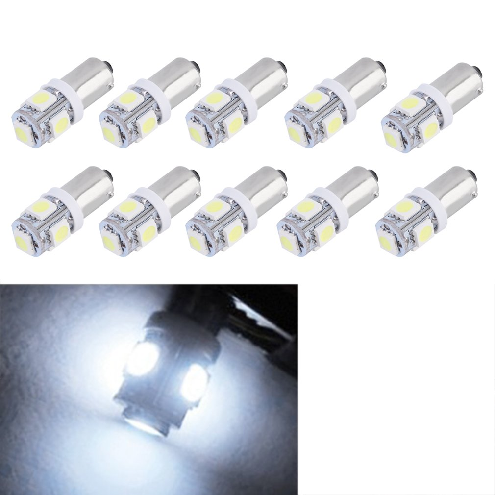 Clearence!10pcs T11 5050 5 SMD Xenon White High Power LED Light Bulb Car Lamp New