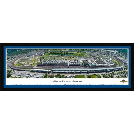 Indy 500 - 100th Anniversary of the 500 Mile Race - Blakeway Panoramas with Select Frame and Single Mat
