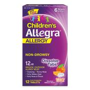 Allegra Children's 12HR Orally Disintegrating Tablets (12 Ct)