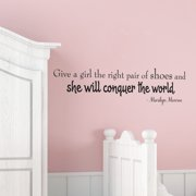 Belvedere Designs LLC Right Pair of Shoes Wall Quotes  Decal