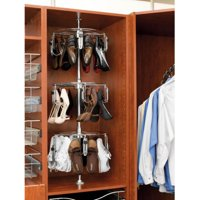 Rev-A-Shelf RCLSZ-W3-55-1 3 Tier Women's Lazy Shoezen with Shaft Closet