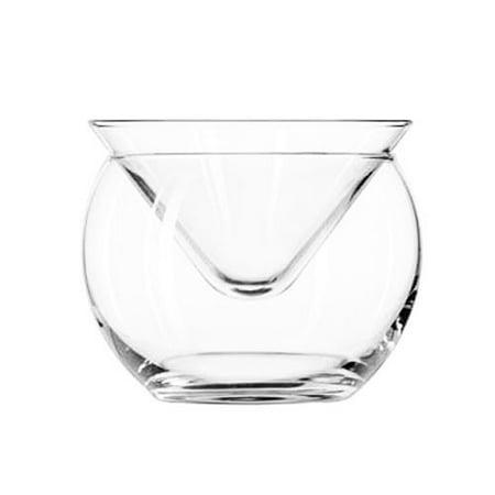 Glass Caviar Server - Up To 3 Serving - Caviar Plate plus Bowl For - Pressed Glass Serving Plates