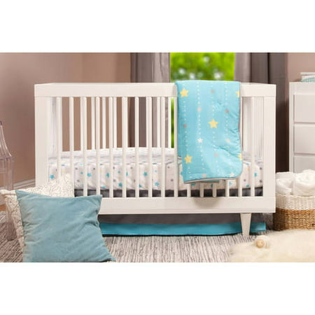 Baby Mod Marley 3-in-1 Convertible Crib White