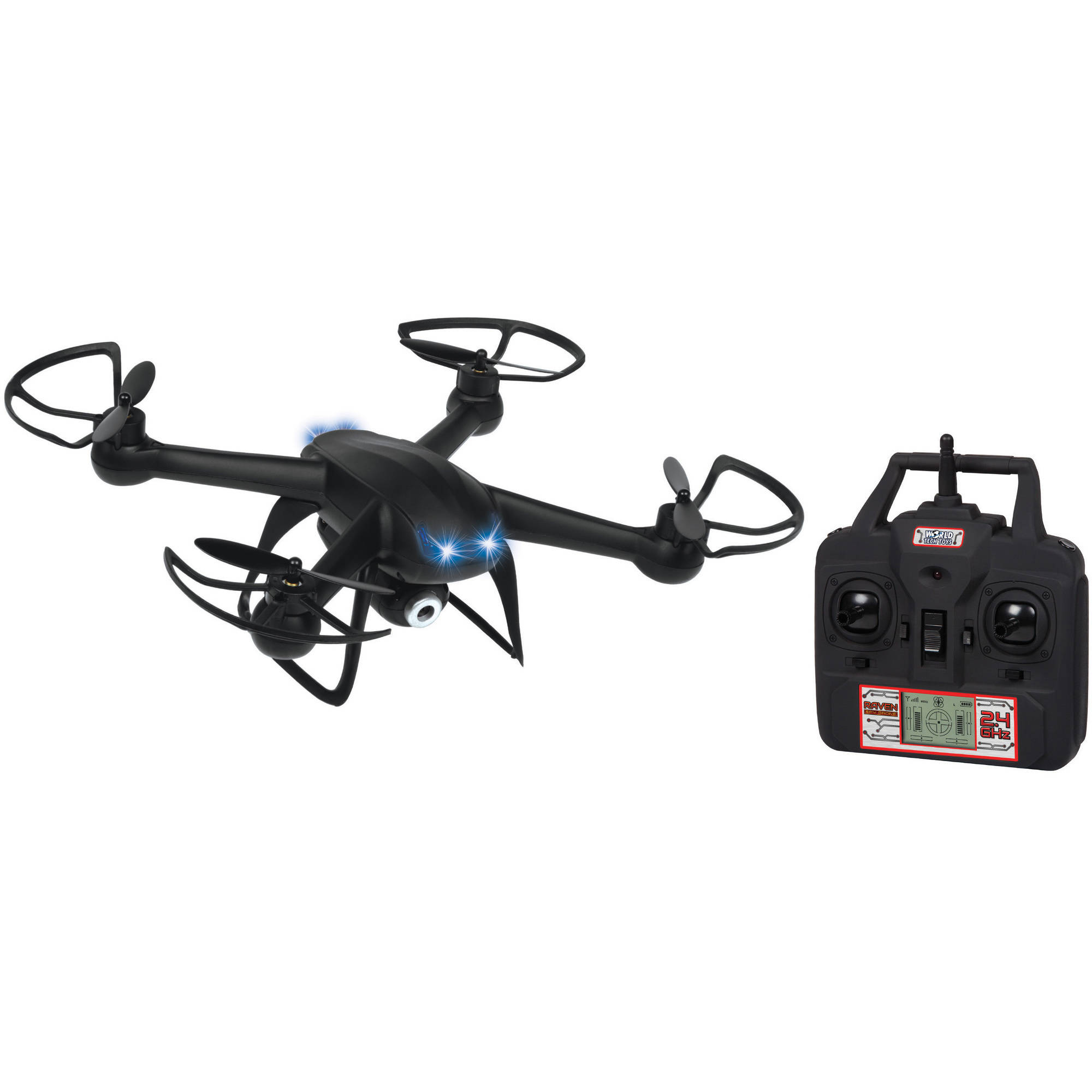 Raven 2.4GHz 4.5-Channel R C Camera Spy Drone by World Tech Toys
