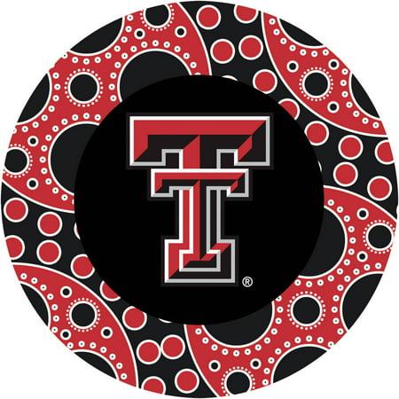 Stoneware Drink Coasters, Texas Tech University -
