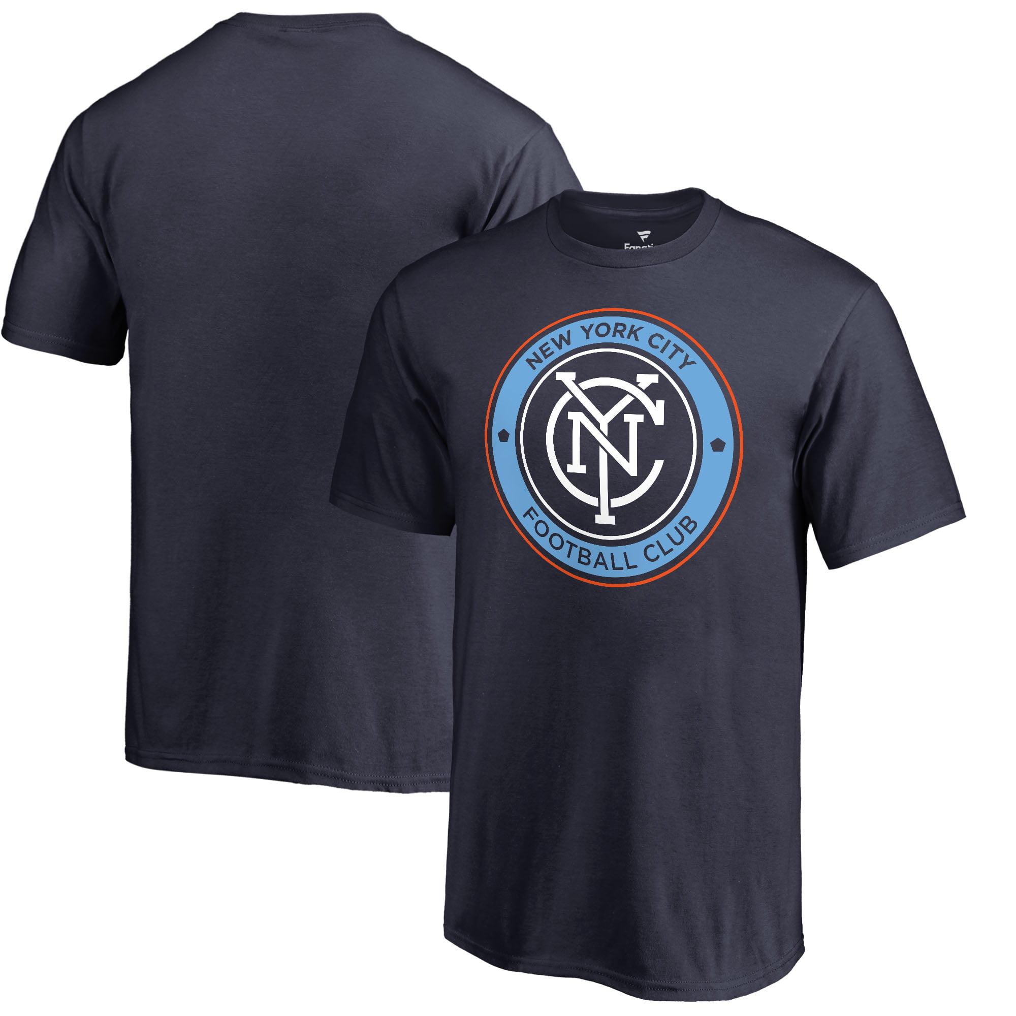 New York City FC Fanatics Branded Youth Primary Logo T-Shirt - Navy