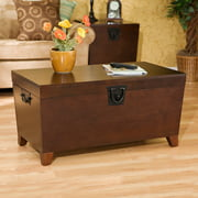 Pyramid Trunk Coffee Table, Mission Style, Multiple Finishes