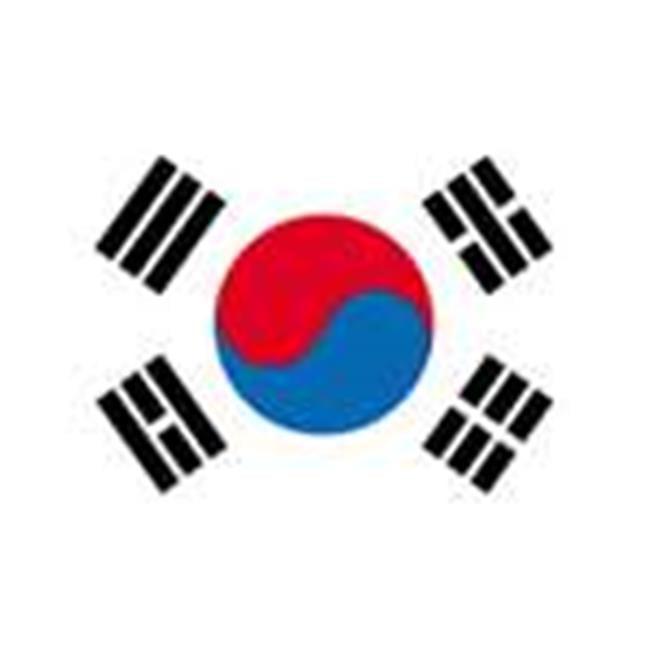 Annin Flagmakers 197609 4 ft. X 6 ft. Nyl-Glo South Korea Flag