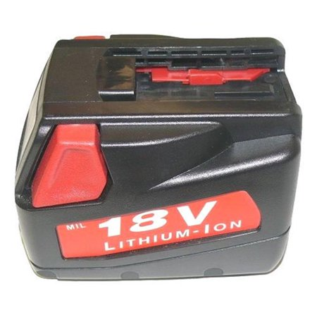 Batteryjack Gd Mil 18D 003 Milwaukee 48 11 1830 18V 3 Amp Hour Lithium Ion Slide Style Battery