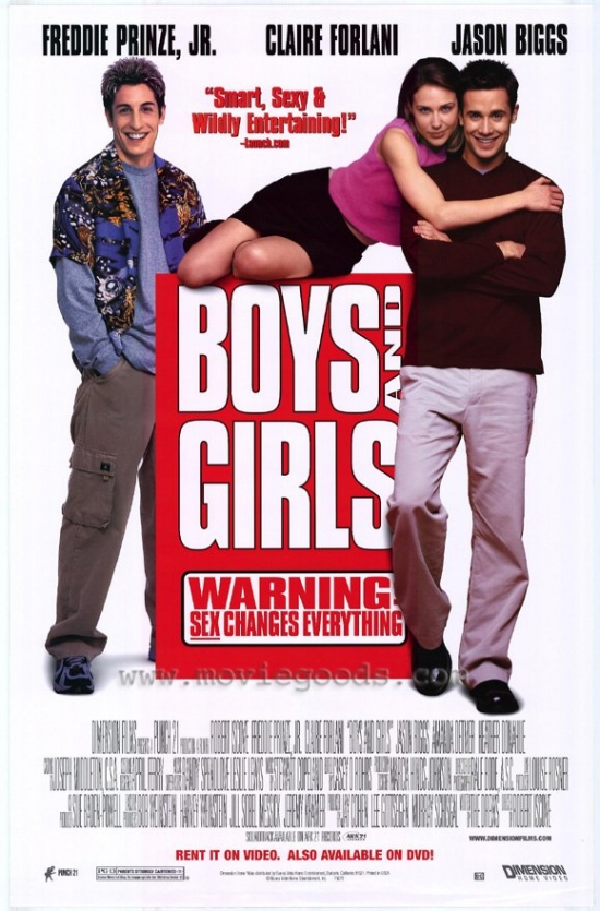 Boys and Girls Movie Poster (11 x 17) by Pop Culture Graphics