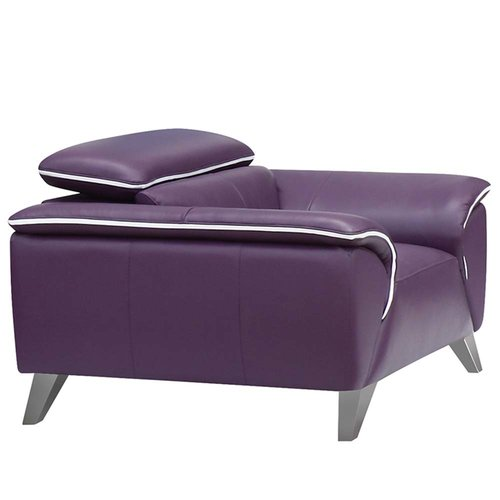 Incroyable Noci Design Purple Armchair