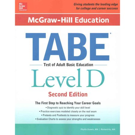 Mcgraw Hill Education Tabe Level D
