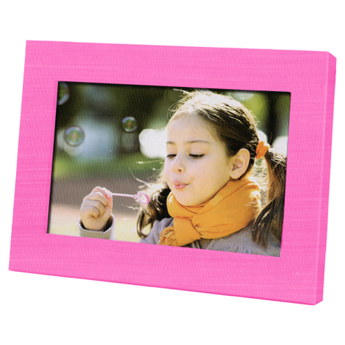 Coby Dp700pnk 7 Widescreen Digital Photo Frame Pink Walmartcom