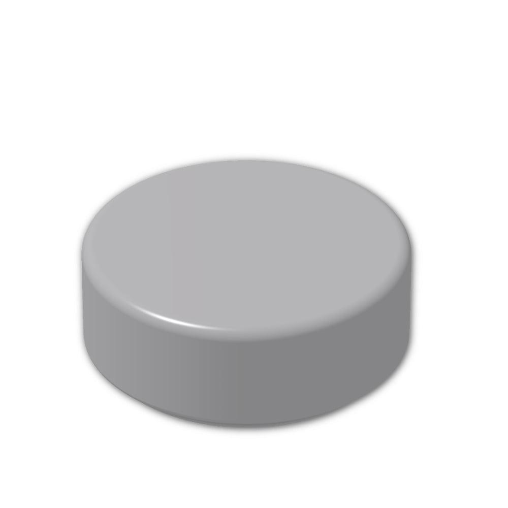Round Flat Tile 1x1 NEW NEW 6 x Lego 98138 Plate Round White, White