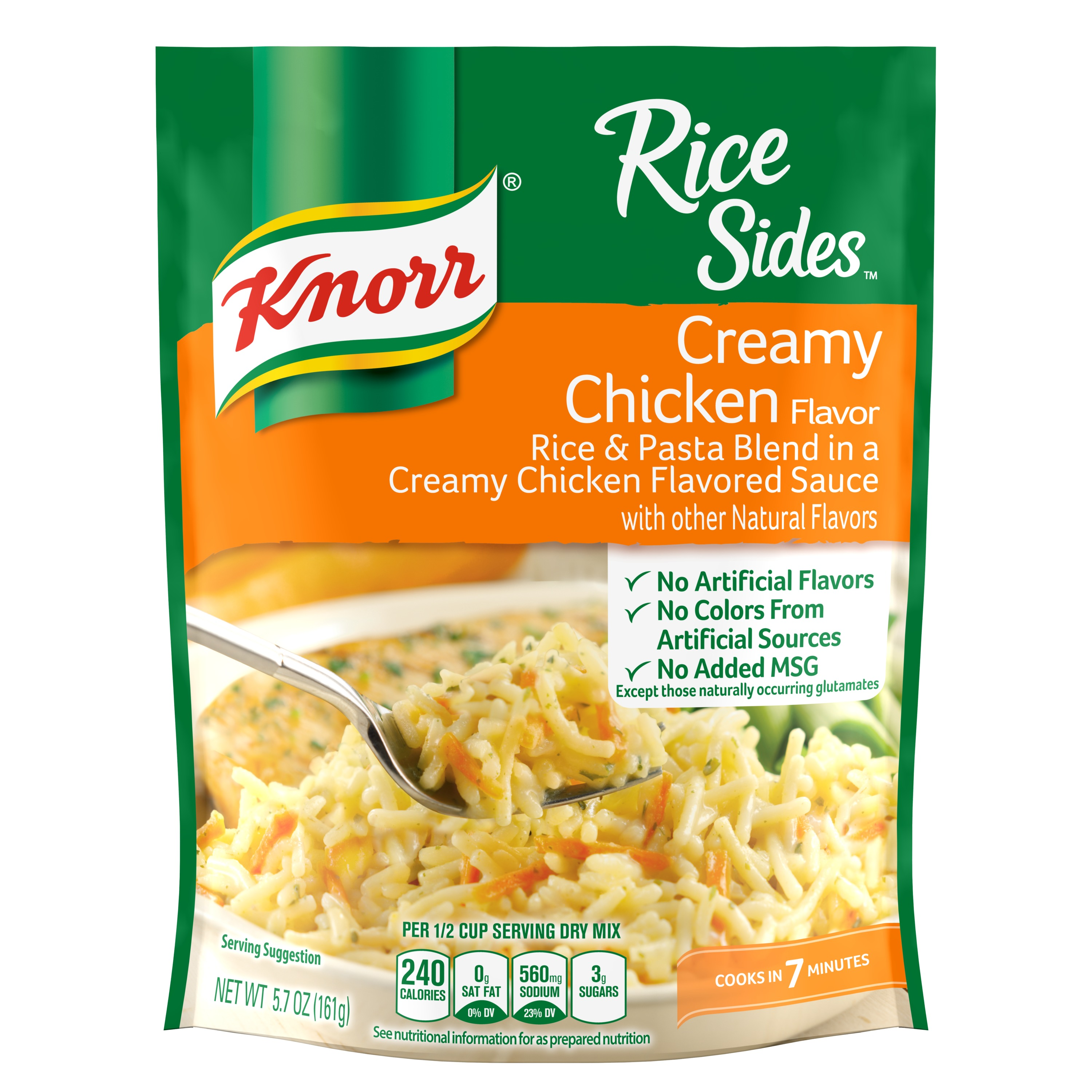 Knorr Rice Side Dish Creamy Chicken 5.7 oz