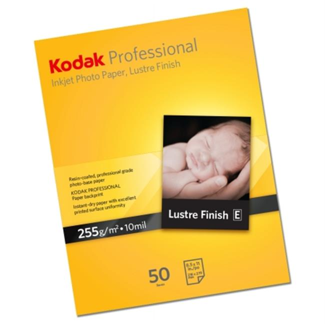 Brand Management Group KPRO1319L Professional Inkjet Photo Paper, Luster, 10. 9 mil, 13 x 19, White, 20 Sheets/PK