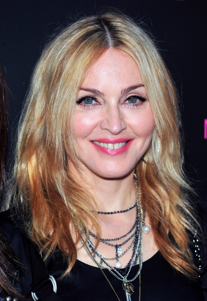 Madonna At In-Store Appearance For The Material Girl Collection Launch Rolled Canvas...