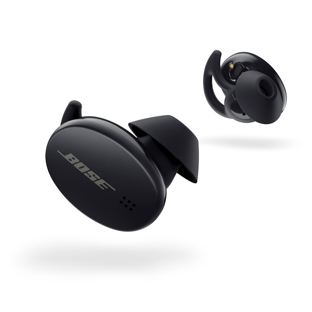 Bose Sport Earbuds – True Wireless Bluetooth Audio Earbuds, Black