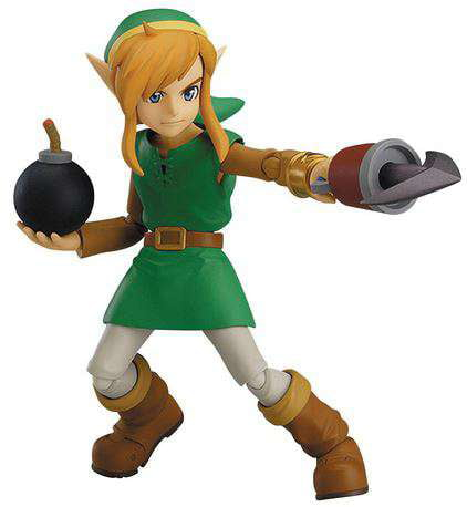 The Legend of Zelda Figma DX Link Deluxe Action Figure [A Link Between Worlds] by Good Smile Company