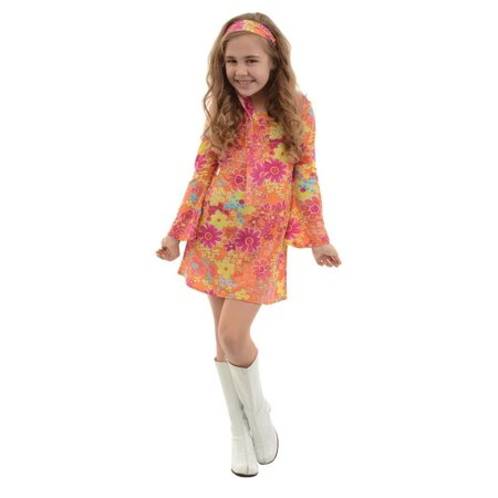 Groovey Flower Child Halloween Costume