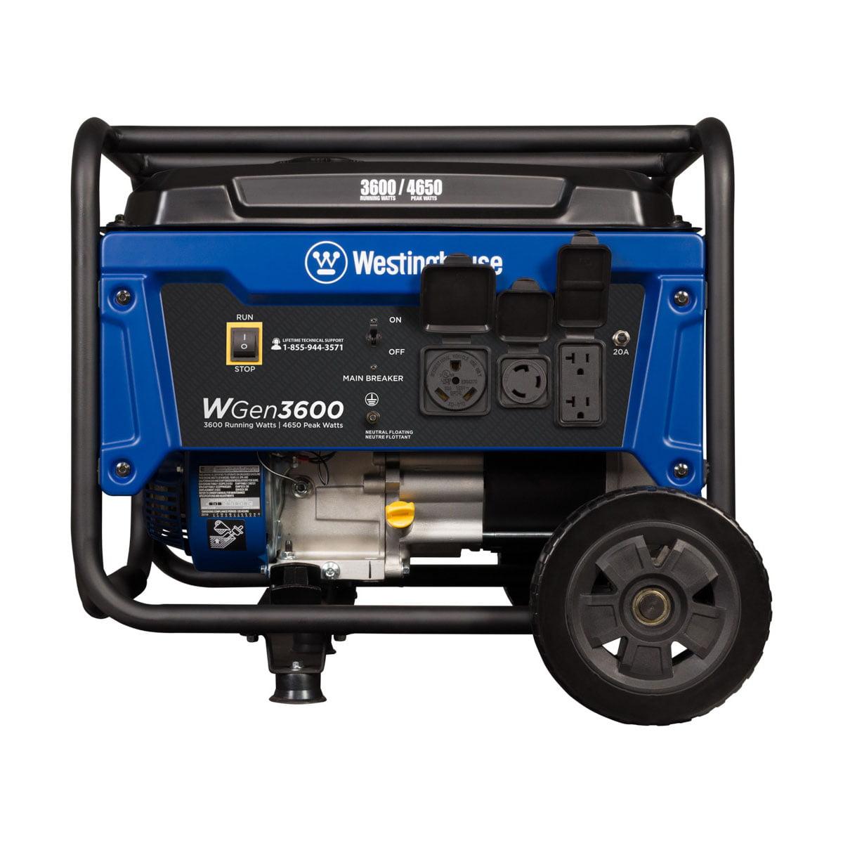 Westinghouse WGen3600 Gas Powered Portable Generator