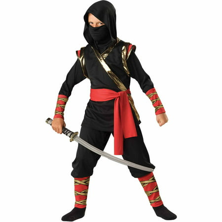 Ninja Child Halloween Costume - Make Ninja Weapons