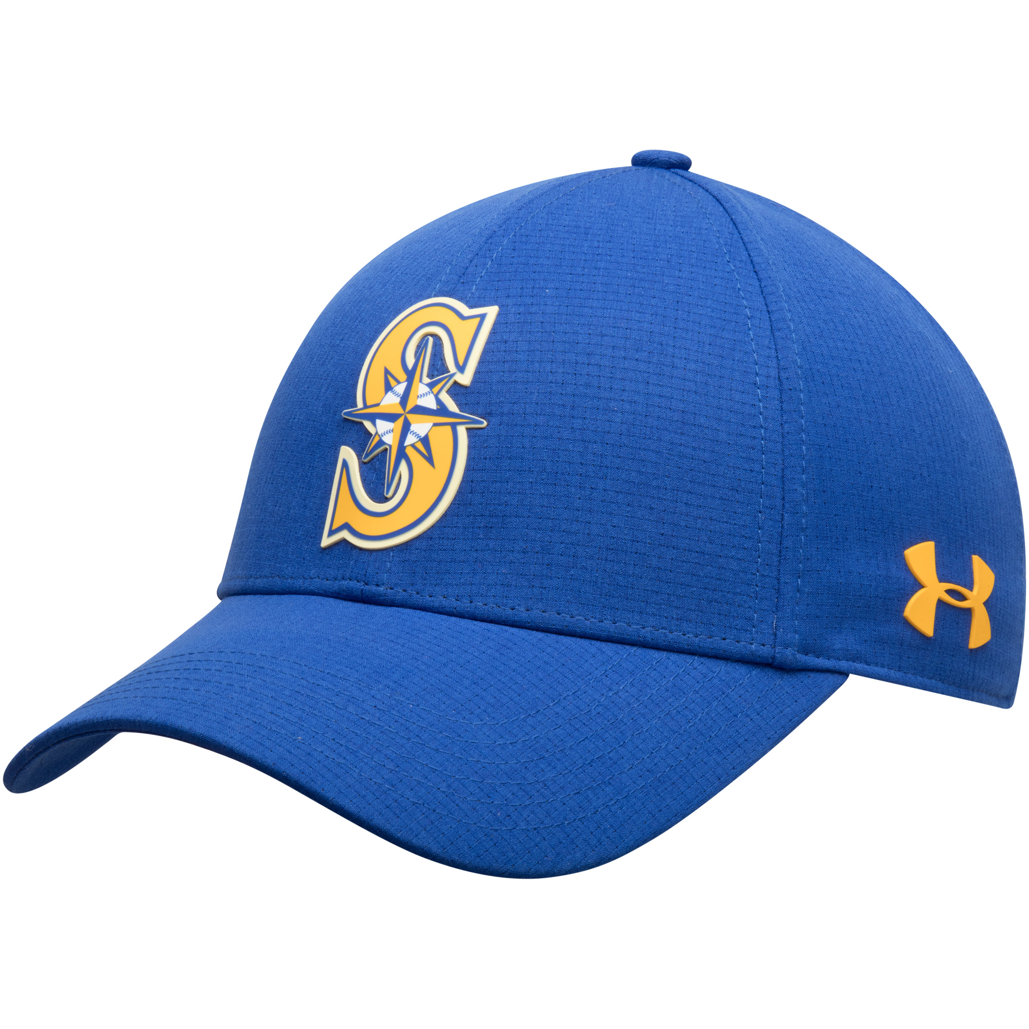 Seattle Mariners Under Armour MLB Driver Cap 2.0 Adjustable Hat - Blue - OSFA