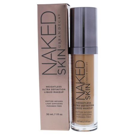 Naked Minerals Makeup - Naked Skin Weightless Ultra Definition Liquid Makeup - 3.0 by Urban Decay for Women - 1 oz Foundation