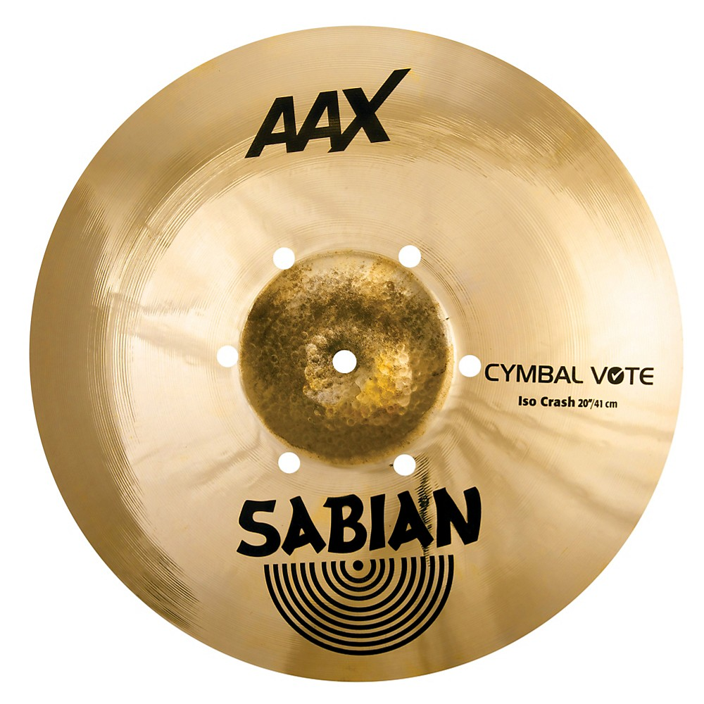 Sabian AAX ISO Crash Cymbal 20 in.