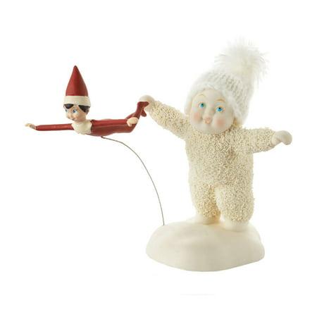Dept 56 Snowbabies 4051840 Elf On The Shelf Flying Lesson - Elf On The Shelf Adults