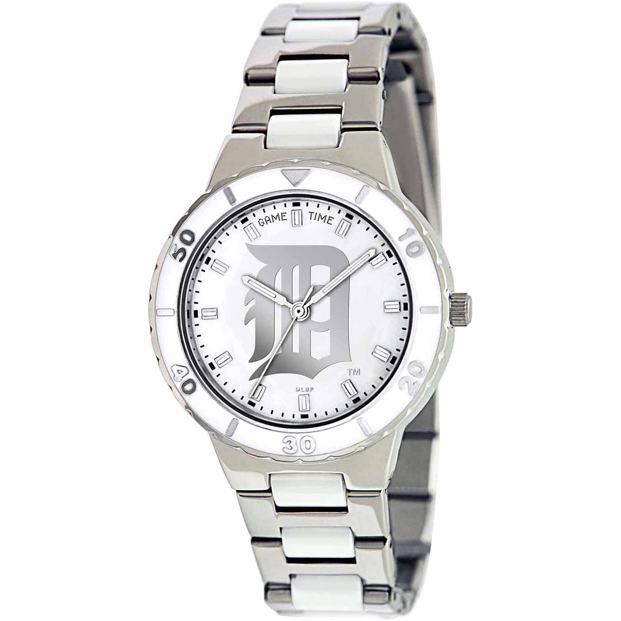 Game Time MLB Women's Detroit Tigers Pearl Series Watch